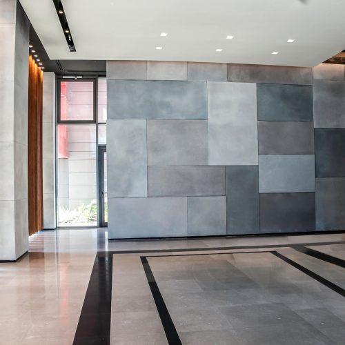 חיפוי קירות לובי במגוון עיצובים